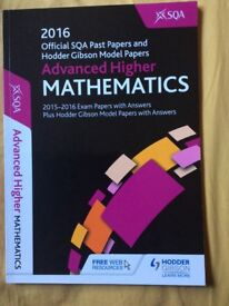 Advanced Higher Maths practice papers