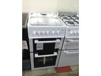 Flavel white 50cm gas cooker. £249. New/graded 12 month Gtee
