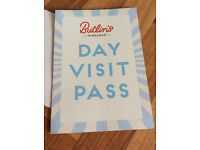 Butlins day pass