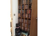 170 DVDs, 15 Boxsets with 4 matching stands to fit all in! £150 for the lot!