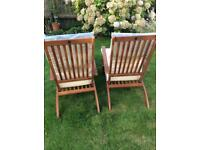 Garden lounger chairs