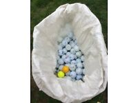 Collection of 1000 logo golf balls