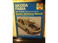 Haynes Manual For Skoda Fabia 00-06