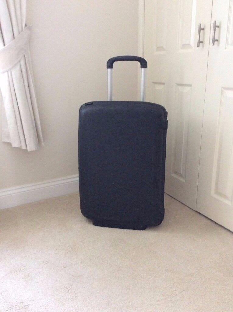 hard back large suitcase