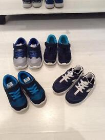 Nike boys four pairs trainer. 8.5 .26 . Vgc £25 for all