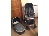 Icandy pram with pushchair
