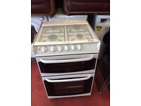 60 cm cannon gas cooker three month guarantee
