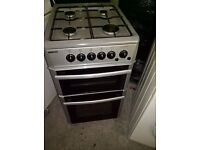beko Silver Gas cooker 50cm...Mint free delivery