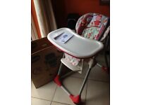 Chicco 2 in 1 Polly Highchair 6 month +