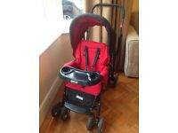 Joovy Caboose double pushchair - good condition
