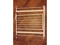 Lindam safety gate x 2, extension bars x2