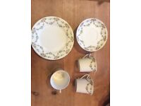 Victorian cups and saucers