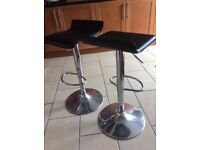 Two breakfast bar chairs for sale
