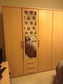 3-door wardrobe