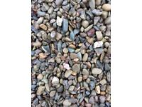 20 mm riverbed garden and driveway chips/ stones /gravel