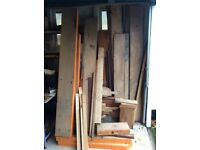 Large selection of timber / Wood