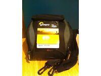 Bargain! New, unused Lowepro Apex 110 AW Black/Grey Camera Case for sale. (Price tag still on.)