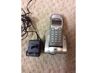 NTL Phone with dock and mains plug - free to collector