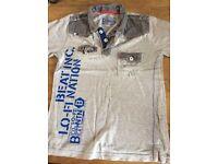 Boys Grey Polo Shirt Size 6-7 Years