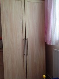 REDUCED Mamas and papas wardrobe and drawers/changing unit