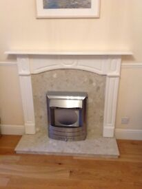 Flameright Appollo Extreme electric fire and surround.