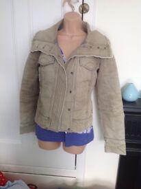 Fat face coat jacket size 8