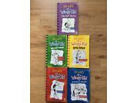 Diary of a Wimpy Kid : 5 Hardbacks, 5 Paperbacks