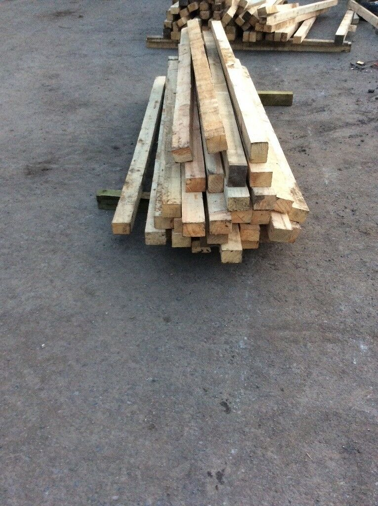 Wood Fence Posts 8 Foot Long In Crook County Durham Gumtree