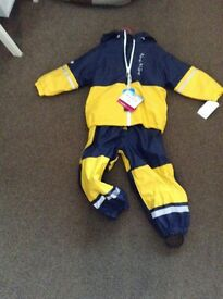 Boys water proof jacket and trousers