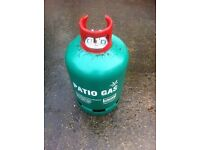 Calor Propane Patio Gas 13kg - Over 3/4 Full Bottle