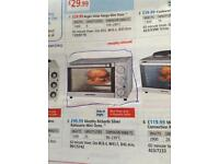 Morphy Richards silver rotisserie mini oven