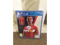 Brand new FIFA 18 game for the PS4