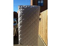 Cot bed mattress from fenwicks in excellent condition .