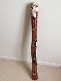 Eucalyptus professionally hand painted Aboriginal didgeridoo NOW REDUCED