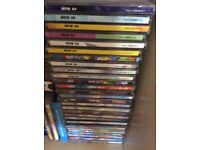 VERY LARGE Collection of NOW Thats What I Call Music CDs (34 Double CDs Numbers 44-96)