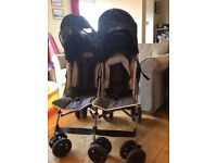 McLaren Twin Traveller Double Buggy