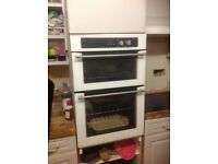 Stoves white double gas oven