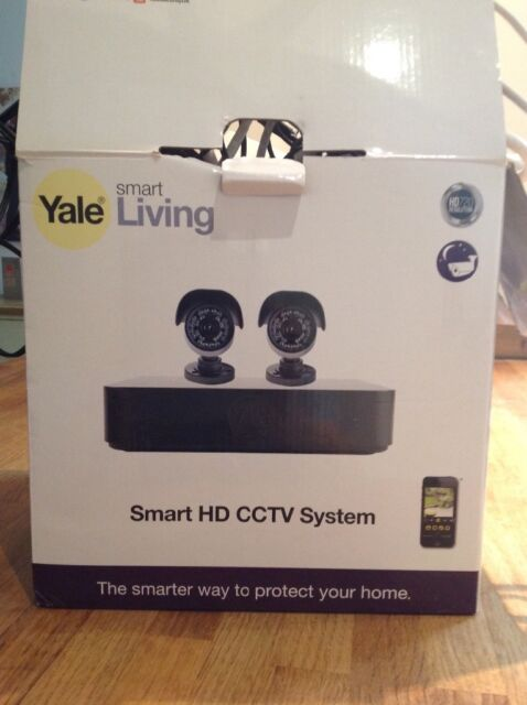 Yale smart living HD security cameras full kit, x2 HD camera, hard drive    in Southsea, Hampshire   Gumtree