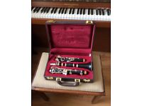 Schreiber Bflat clarinet, in good condition, with case.