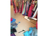 72x designer joblot dresses wholesale rrp £35,000+ buisness starter boutique style evening prom