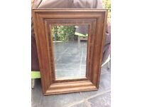 Barker and stonehouse solid wood mirror