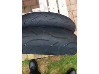 bridgestone hypersport tyres s20 190/55-17 120/70-17