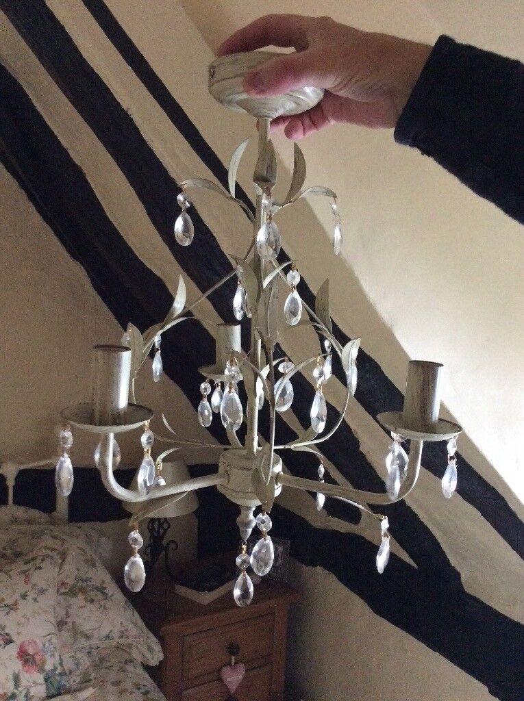 Vintage Shabby Chic Ceiling Light