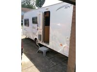 Lunar Quasar 524 Touring Caravan. 2010, 2/4 berth. NEW Lower Price. Lightweight, Motor Mover