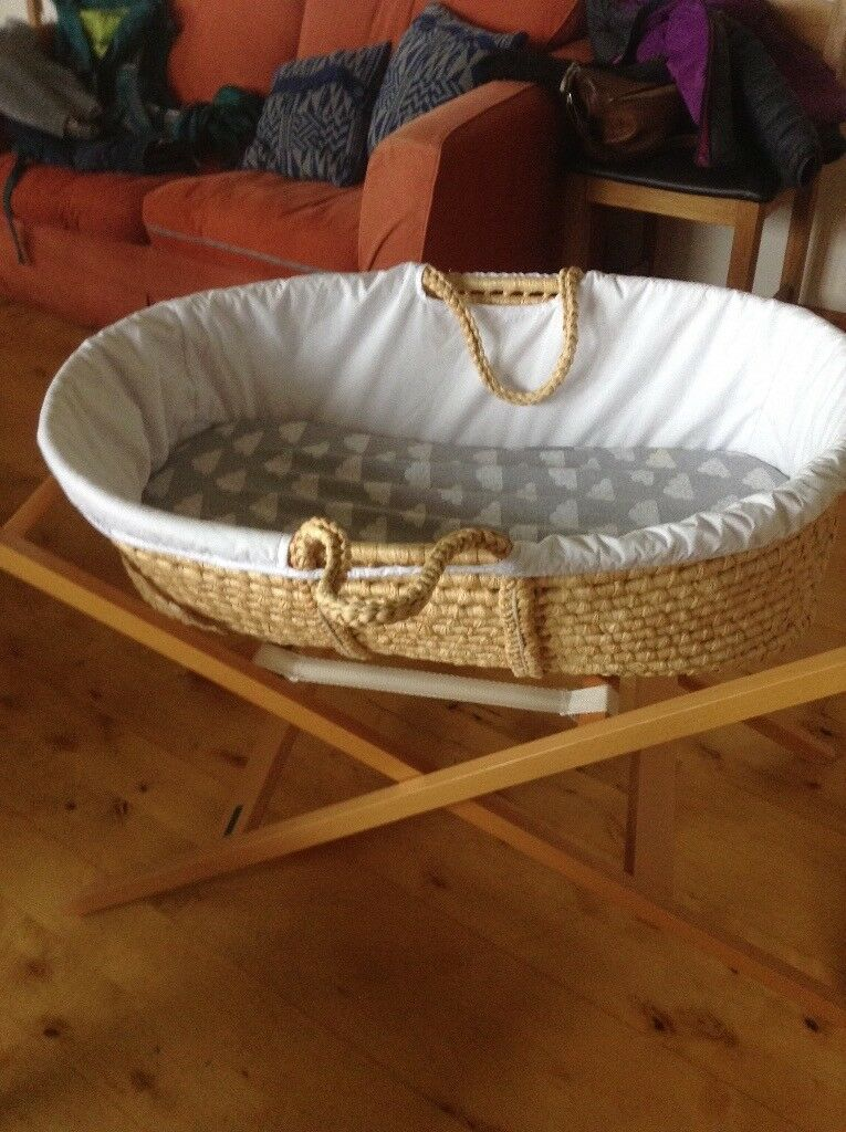 2 Moses baskets for sale