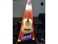 "Kids 34"" acoustic guitar"