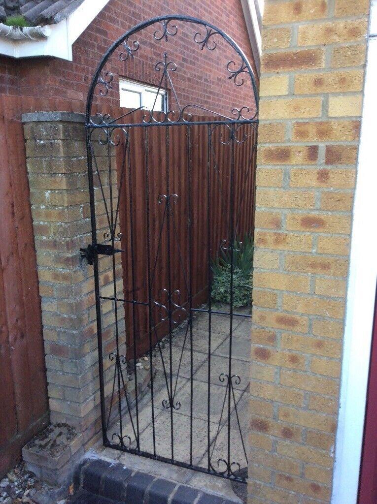 WROUGHT IRON SIDE GATE   in Haverhill, Suffolk   Gumtree