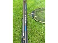 Match/commercial Fishing landing net and carbon pole