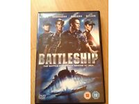 Battleship DVD - The Battle For Earth Begins At Sea.