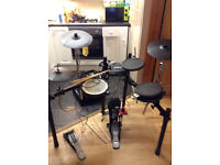 Roland TD4 electronic drums with Alesis Transactive Drummer Amplifier